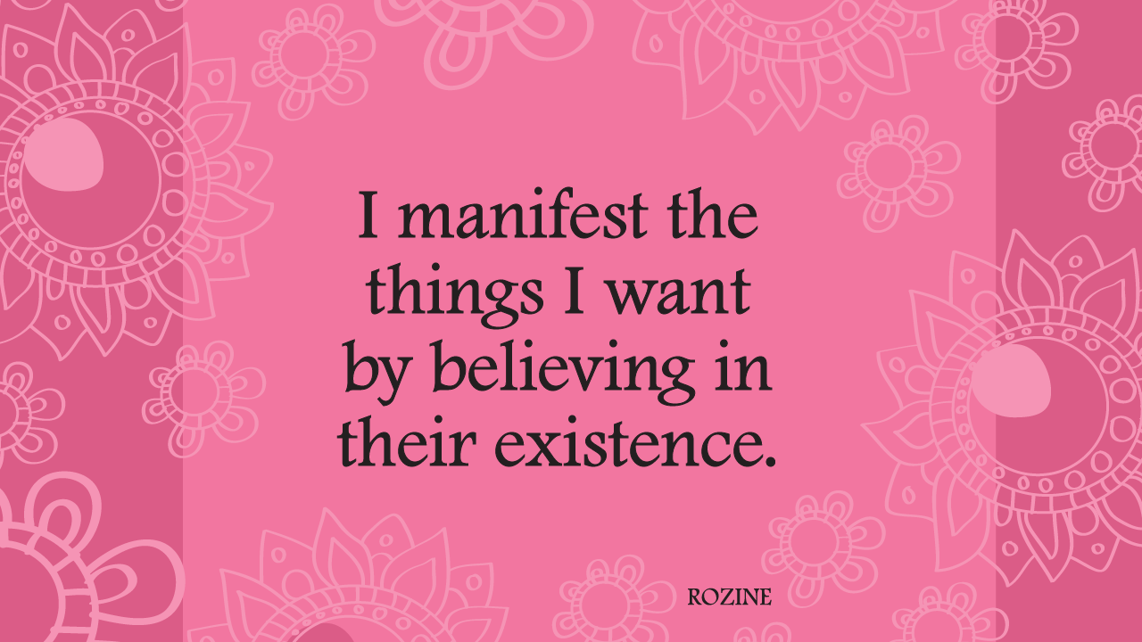 Easy to follow tips for manifesting